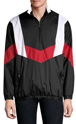 HUGO BOSS Relaxed-Fit Droyes Nylon Pullover Jacket