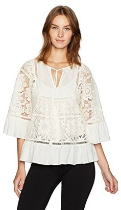 Plenty by Tracy Reese Women's Lace Blouse