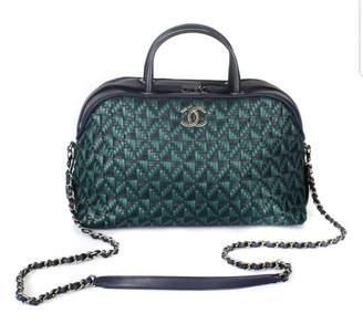 Chanel Navy Pony-style calfskin Handbags