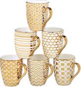 Certified International Elegance Gold 6-pc. Coffee Mug