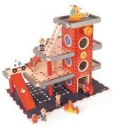 Janod Boy's Fire Station Play Set