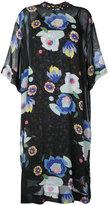 G.V.G.V. Floral print chiffon tee dress - women - Cupro/Rayon - 34