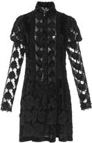 Anna Sui Victorian Rose Mini Dress