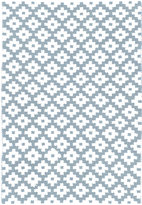 Dash & Albert Samode Rug - Light Blue/Ivory - 122x183cm