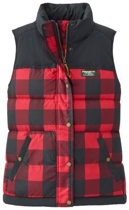 L.L. Bean Women's Mountain Classic Down Vest, Print