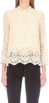 MiH Jeans Esbaran crochet lace top