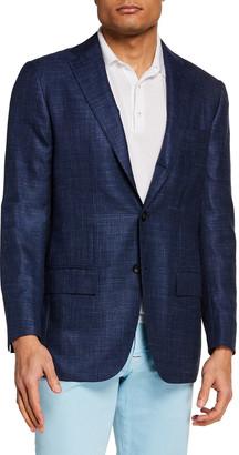 Kiton Men's Textured Blazer
