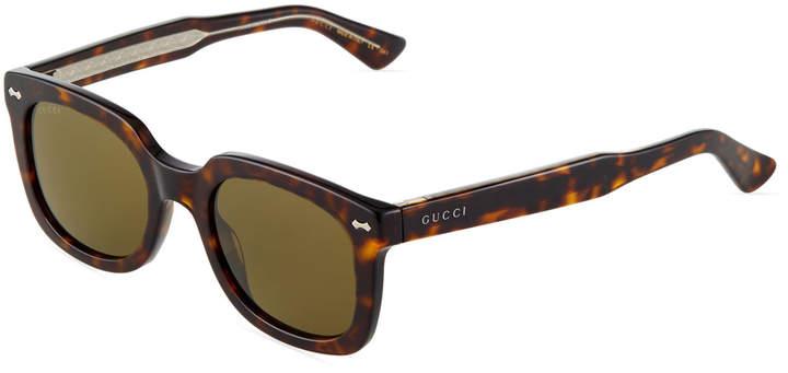 b7db4575026 Square Tortoise Sunglasses - ShopStyle