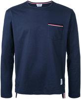 Thom Browne longsleeved T-shirt - men - Cotton - 1