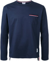 Thom Browne longsleeved T-shirt - men - Cotton - 3