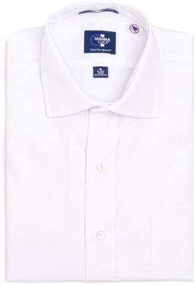 Magnaclick Men's MagnaClick Regular-Fit Spread-Collar Adaptive Dress Shirt