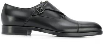 HUGO BOSS Single-Buckle Monk Shoes