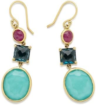 Ippolita 18kt Gold Gemstone Earrings