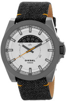 Diesel Men&s Arges Denim Strap Watch