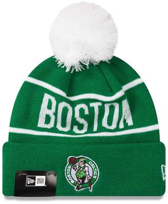 Boston Celtics 2019 New Era Knits On Fire Beanie
