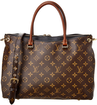 Louis Vuitton Black Monogram Canvas Pallas