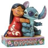 Enesco Disney Traditions by Jim Shore Lilo and Stitch Figurine, 4.875 IN