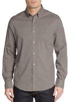 John Varvatos Regular-Fit Check Cotton Sportshirt