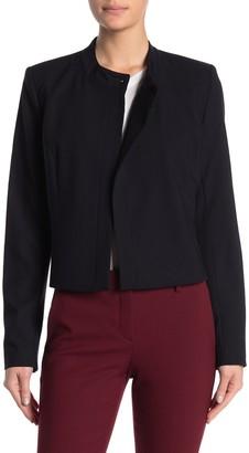 Calvin Klein Asymmetrical Drape Jacket