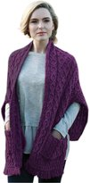 Carraigdonn Carraig Donn Ladies Merino Wool Wrap, Made in Ireland, 100% Pure Irish Wool