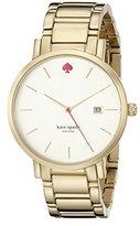 Kate Spade Women's 1YRU0009 Gramercy Gold-Tone Stainless Steel Watch