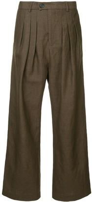 Strateas Carlucci Baggy Pleat Pants