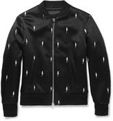 Neil Barrett - Embroidered Shell Bomber Jacket