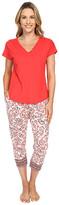 Lucky Brand Tee-Jay Pajama Set