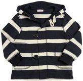 Il Gufo Striped Cotton Fleece Sweater