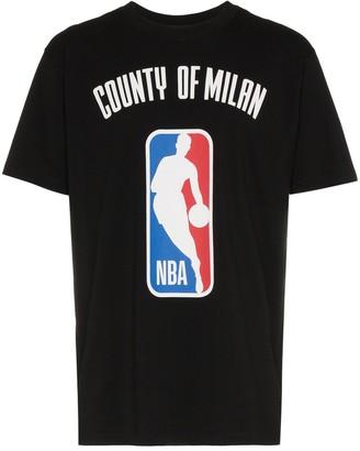 Marcelo Burlon County of Milan X NBA print ribbed neck t-shirt