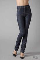 Ksubi High & Waisted Skinny Jeans in Raw Rinse Indigo