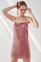 Silence & Noise Silence + Noise Square Neck Slip Mini Dress