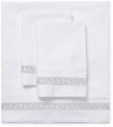 Melange Home Greek Key Sheet Set
