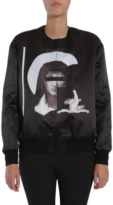 Givenchy Madonna Zipped Bomber Jacket