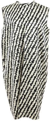 Celine Ecru Silk Dresses
