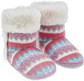 Accessorize Fairisle Slipper Boots