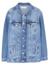 Mango Outlet Oversize denim jacket
