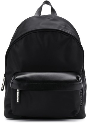 DSQUARED2 Logo Tab Zip Backpack