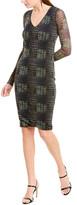 Fuzzi Sheath Dress