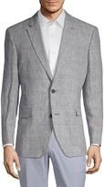 Tommy Hilfiger Plaid Linen Jacket