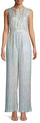 Calvin Klein Pleated Sleeveless Jumpsuit