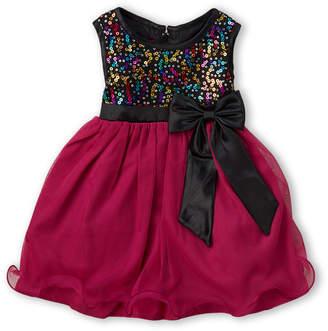 Princess Faith (Infant Girls) Sequin Bodice Sleeveless Dress
