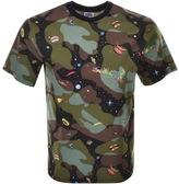 Billionaire Boys Club Space Camo T Shirt Green
