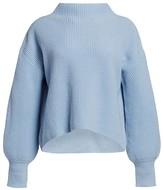 A.L.C. Helena Drop-Shoulder Mockneck Sweater
