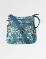 Fat Face Ditzy Floral Canvas Cross Body Bag