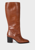 Thumbnail for your product : Paul Smith Women's Tan Leather Knee-High 'Johnette' Boots
