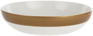 A By Amara Port Cros Golden Porcelain Salad Bowl
