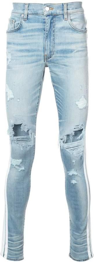 Amiri skinny track jeans