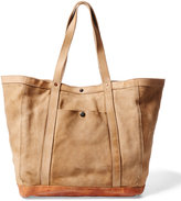 Ralph Lauren Washed Leather Tote