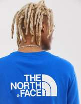 The North Face Easy long sleeve t-shirt in nautical blue